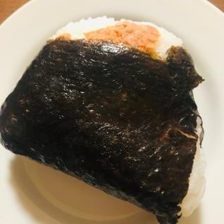 鮭と明太子のおにぎり