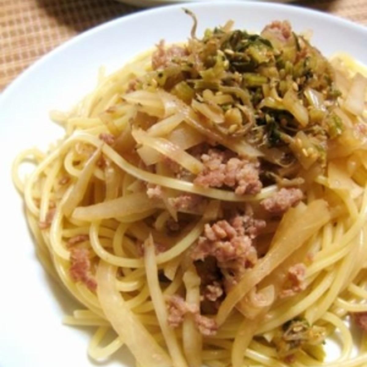 パスタ ひき肉