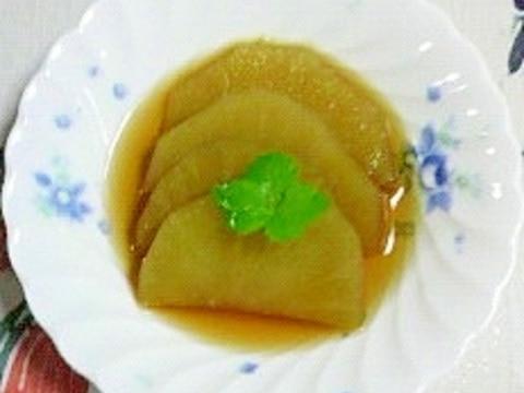季節外れのヤーコンの生姜煮