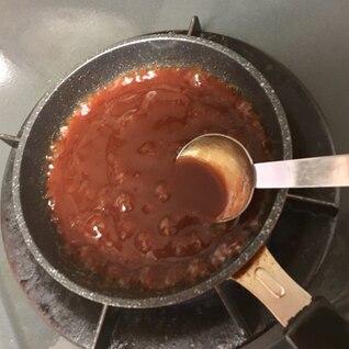 家庭の手作りデミグラスソース