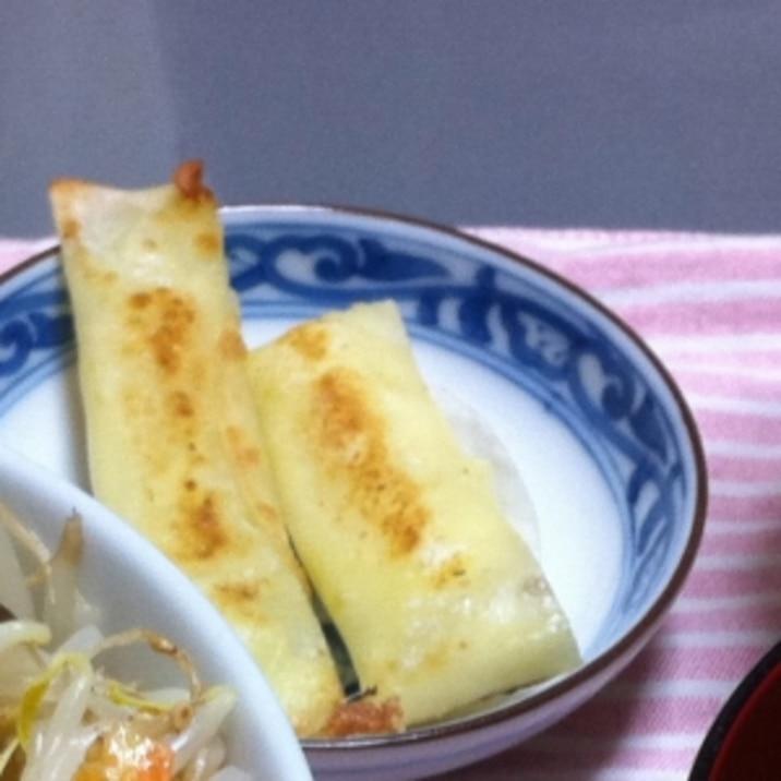 簡単☆チーズのカリカリ焼き