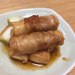豚肉で高野豆腐の肉巻き照り焼き♪