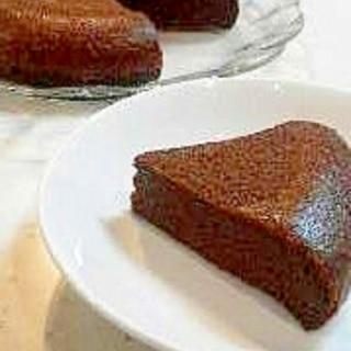 チョコと卵だけで!炊飯器チョコケーキ