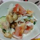 簡単!大豆とツナのサラダ