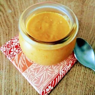 素材の甘み十分!かぼちゃと米粉のプリン