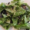 サラダ菜で簡単!チョレギ(韓国風サラダ)