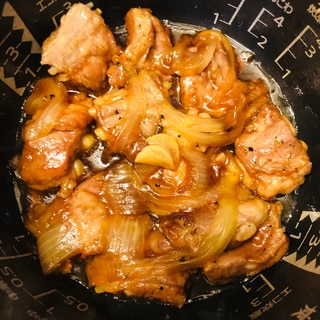 炊飯器で簡単!角煮風豚軟骨