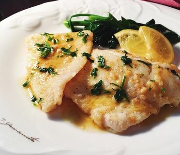 旬の鱈で美味しいムニエル!〜檸檬バターソース〜