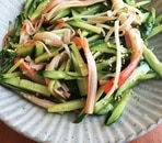 きゅうりの中華サラダ