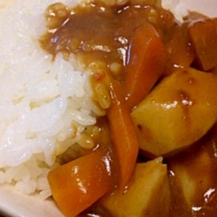 里芋の和風カレー丼