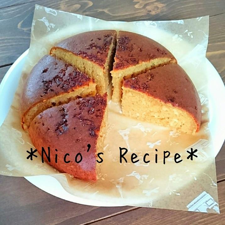 炊飯器で簡単すぎる♪黒糖ケーキ