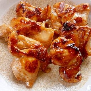 ノンオイルで焼ける!☆鶏もも肉の味噌焼き☆