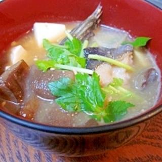 青森郷土料理☆ 真鱈の「じゃっぱ(雑把)汁風」
