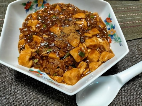 10分で..我が家で人気の麻婆豆腐