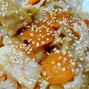 ♥ 人参&レンコン&長芋の炒め煮 ♥