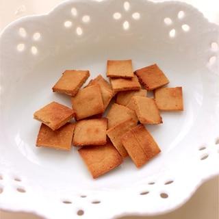 トースターで‼簡単きなこと米粉のポリポリクッキー