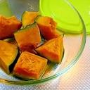 かぼちゃの醤油蒸し