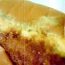 カツと卵のロールサンド