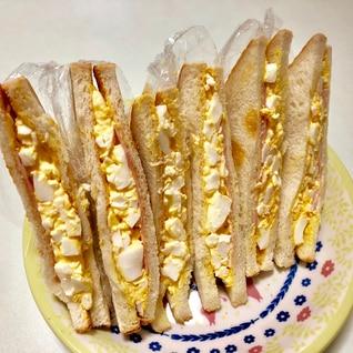 ハムと卵のサンドイッチ