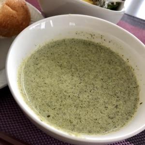 人参の葉っぱスープ