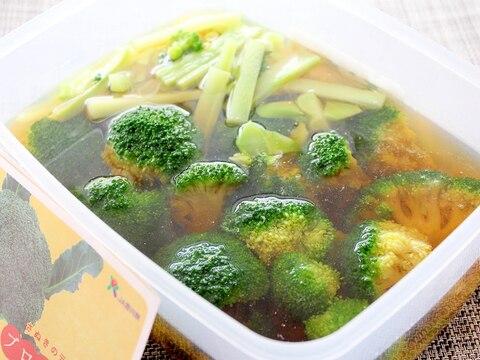 美味しくて便利な常備菜!ブロッコリーのめんつゆ漬け
