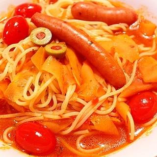 パスタの茹で時間=調理時間!お鍋1つでスープスパ