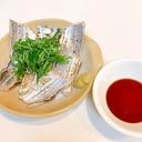 皮パリパリ太刀魚の炙り