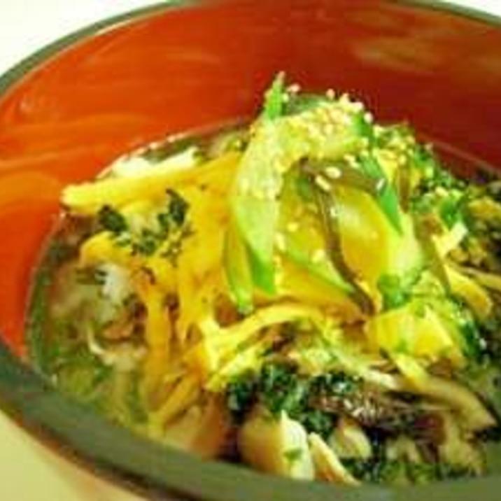 塩糀で奄美の鶏飯(けいはん)