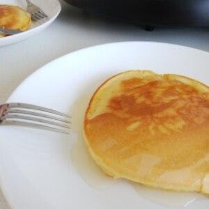 卵無しホットケーキ