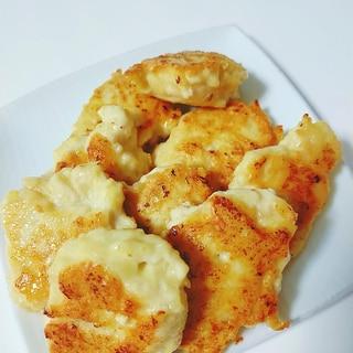 豆腐と鶏むね肉の焼きチキンナゲット