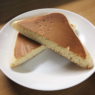 ホットサンドメーカーで作る♪ふわふわホットケーキ