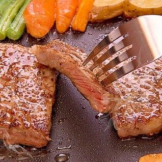大判ステーキの焼き方