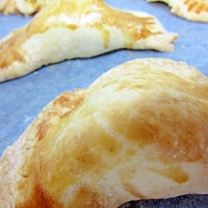 餃子の皮で簡単かぼちゃパイ☆
