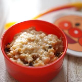 【離乳食9ヶ月〜】オートミールのミルク粥
