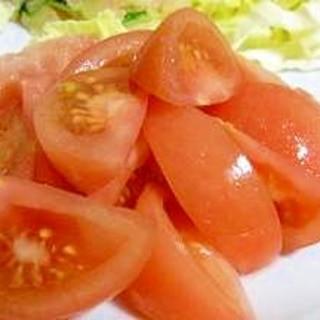 硬いトマトの美味しい食べ方♪