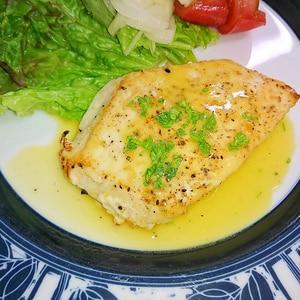 かじき鮪のムニエル~レモンソース