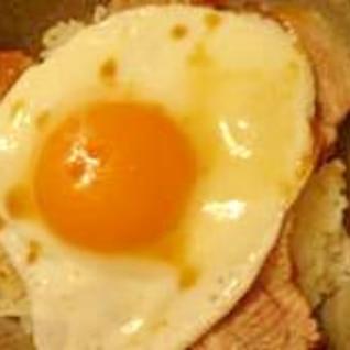 ご当地B級グルメ 焼き豚卵飯