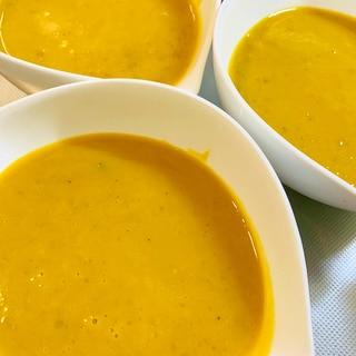 かぼちゃの煮物でリメイク!かぼちゃスープ