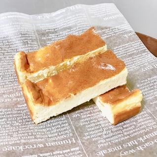 簡単♪小麦粉不使用の低糖質スティックチーズケーキ*