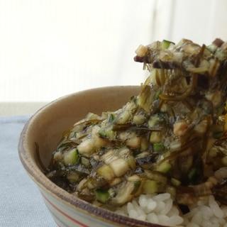 納豆昆布で作る山形の郷土料理「だし」