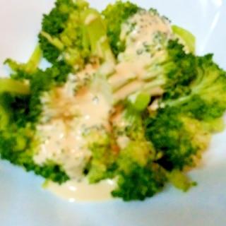 ブロッコリーのチョッキングサラダ♪