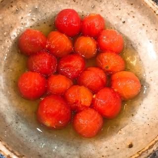 簡単すぎる♡だしまろ酢のプチトマトマリネ