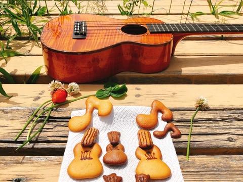 ウクレレmahalo cookie♪