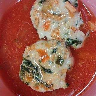 離乳食完了期 トマトハンバーグ