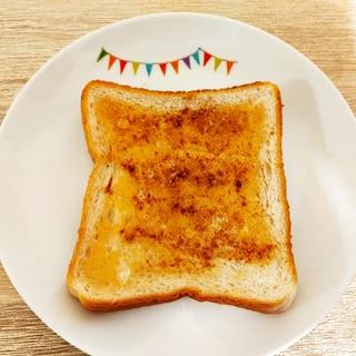 ほんのり甘い☆はちみつシナモントースト
