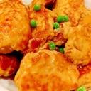 鶏つくねの照り煮♪