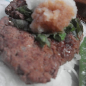 ダイエットに★鶏×豆腐の低カロリーハンバーグ