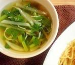 うど香る和風スープ