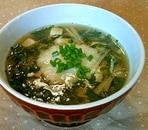 モロヘイヤのとろとろ和風スープ