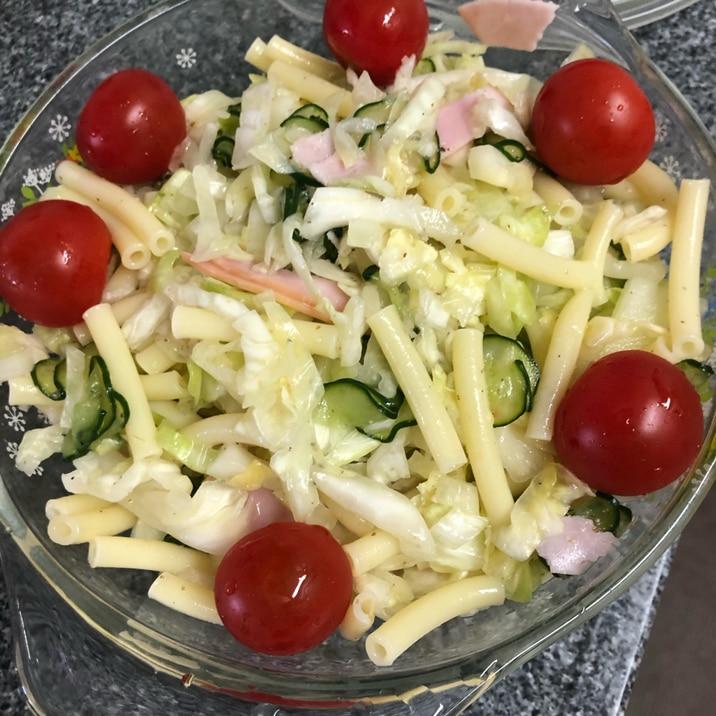イタリアンドレッシングで絶品☆野菜マカロニサラダ